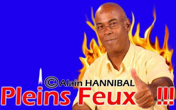PLEINS  FEUX  !!!!!!!!!  AVEC NOTRE PARRAIN DES  JEUNES EN GUADELOUPE :  ALAIN HANNIBAL .CREDITS PHOTOS DE PRESSE OUTRE - MER