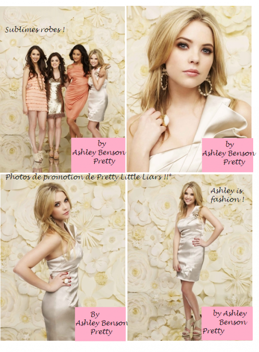 Les photos de promo pour Pretty Little Liars !!*