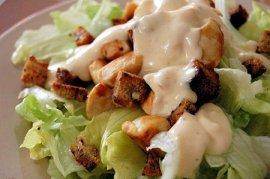 Entrée: salade césar rapide