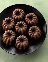 Dessert: cannelés au chocolat