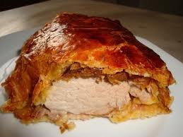 Viande: filet mignon en croûte