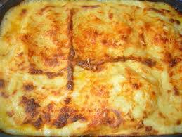 Plat principal: lasagnes au poulet