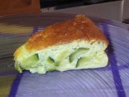 Entrée: tortilla aux courgettes