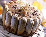Saint-Valentin et dessert: Charlotte au chocolat avec glaçage