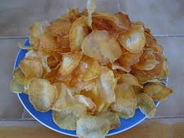 Amuses-bouches: chips maison