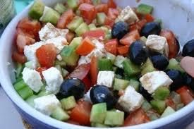 Entrée: Salade grecque