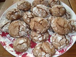 Dessert: Craquelins au chocolat