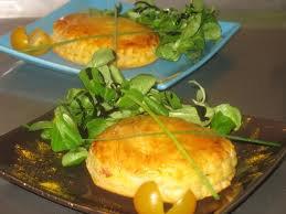 Entrée: Feuilletés de foie gras