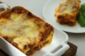 Plat principal: Lasagnes à la napolitaine