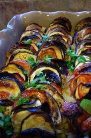 Légumes: Tian de légumes