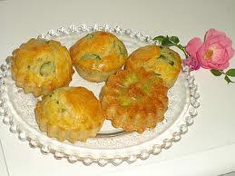 Amuses-bouches: Mini cakes aux fèves