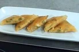 Amuse-bouche: Samoussa de poulet