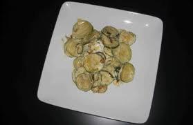 Légumes: Courgettes à la crème