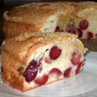 Dessert: Cake aux cerises