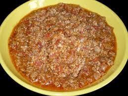 Sauce: Bolognaise