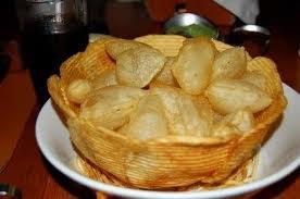 Apéritif: Pommes de terre soufflées