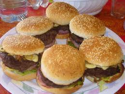 Plat principal: Hamburger maison