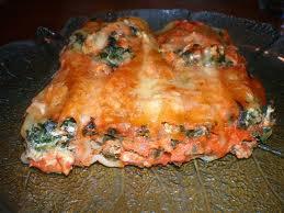 Plat principal: Cannelloni au poulet