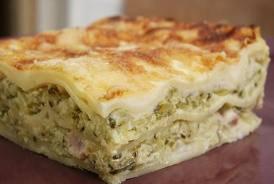 Plat principal: Lasagnes de courgettes et chèvre frais