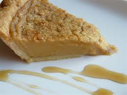 Dessert: Tarte au sirop d'érable