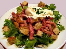 Entrée: Salade lyonnaise