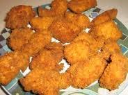 Accompagnement: Croquettes au poulet