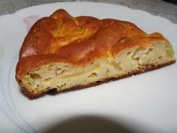Dessert: Fondant aux pommes et praliné