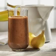 Dessert: Smoothie aux bananes et chocolat