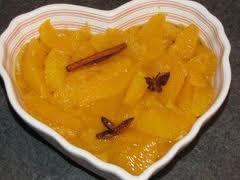 Dessert: Salade d'oranges à la vanille