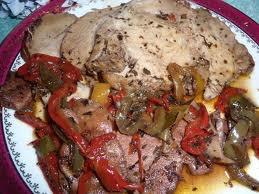 Viande: Rôti de porc à la provençale
