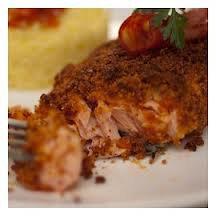 Poisson: Saumon en croûte de chorizo