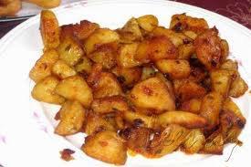 Plat principal: Pommes de terre fondantes au paprika