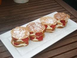 Dessert: Fraises mascarpone