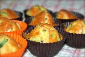 Apéro: Cupcakes aux courgettes