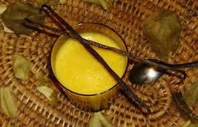 Dessert: Mousse à la mangue