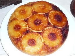 Dessert: Gâteau à l'ananas façon tatin