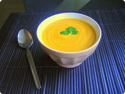 Entrée: Soupe à la carotte