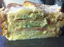Entrée: Croque cake