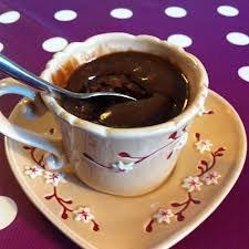 Dessert: Mug cake Nutella