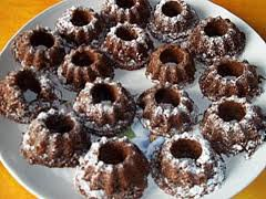 Dessert de Noël: Mini kouglof au chocolat