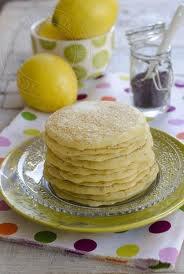Dessert: Pancakes au citron