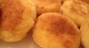 Dessert: Croquettes de semoule à l'orange