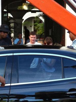 Justin Timberlake et Jessica Biel a Porto Rico le 1 er septembre