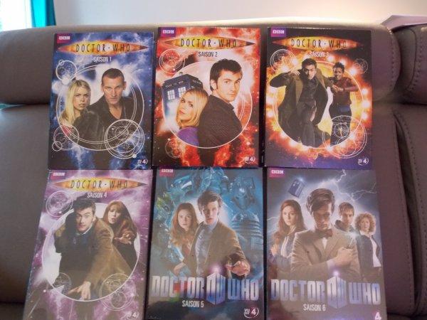 il me manque plus  que les  saison 7,8 et 9 du  doctor who