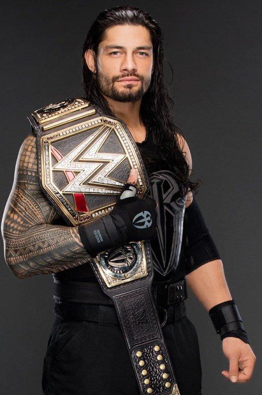 Roman Reigns champion   pour la 3 émè fois