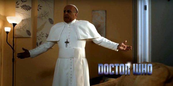 le pape  demande aide  du  doctor  ( doctor  who saison 10)