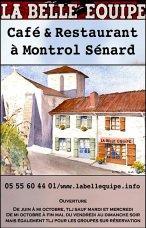 Une restaurant à ouvert ses portes à Montrol- Senard