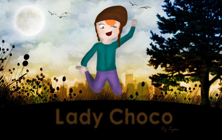 Un Fan-Art pour Lady Choco