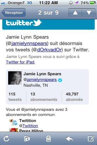 Jamie Lynn ON Twitter !
