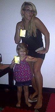 PHOTO - Jamie & Maddie dans les backstage